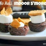 Party Food: No-Mess Indoor S'mores  |  Best Birthdays