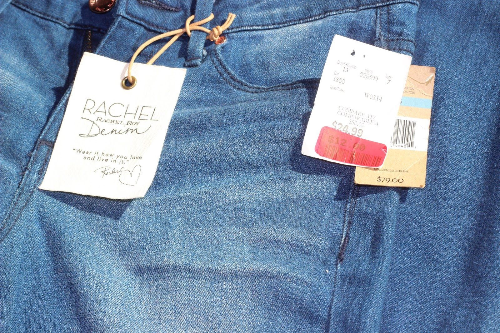 Bootcut Denim Pants by Rachel Roy