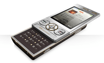 Sony Ericsson W705 Review: When slider is opened, the magic begins