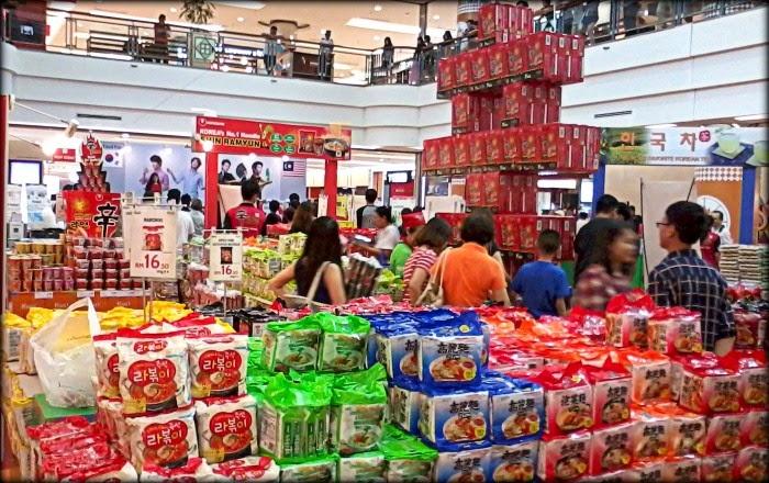 Promosi Dan Jualan Produk Makanan Korea - K-Food Fair