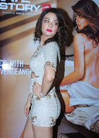 Surveen Chawla in Spicy Short Dress at Promotion of Hate Story 2 Movie with its Star Cast Spicy Beauty