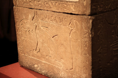 Tomb for a cat that belonged to Thutmose, son of Amenhotep III
