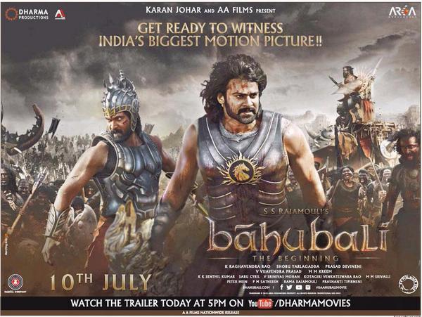 Baahubali Movie Release Date Poster,  Prabhas,  Rana,  Rajamouli,  Anushka