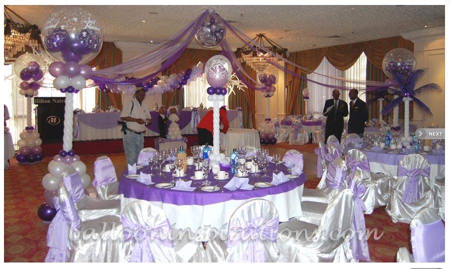 Decoraciones para fiestas decoraciones para tus 15 o boda - Decoracion bodas con globos ...