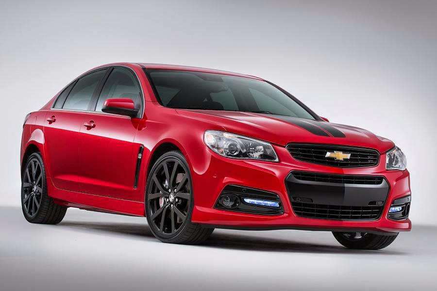 Chevrolet SS Sport Concept (2015) Front Side