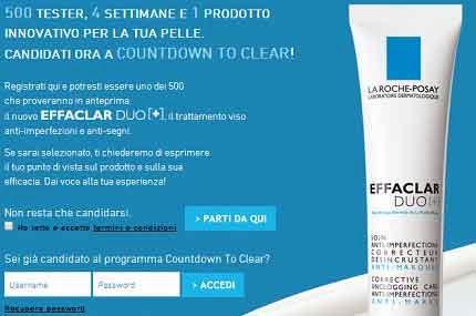 tester La Roche Posay Effaclar DUO