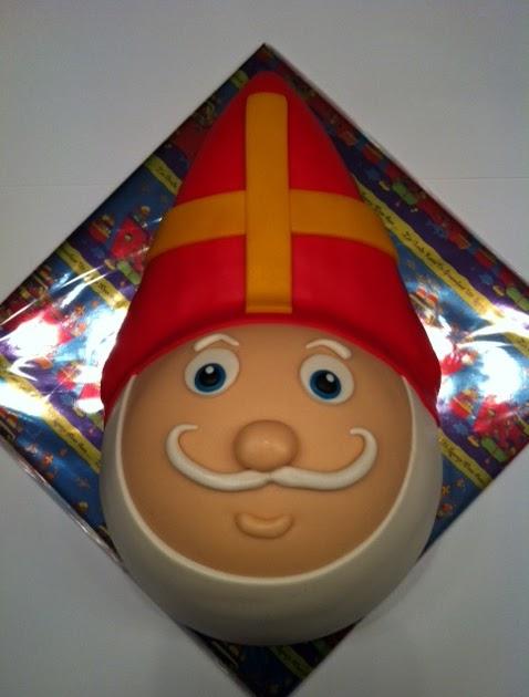 Taarten; Gemaakt door Jonne: Sinterklaas taart 3D