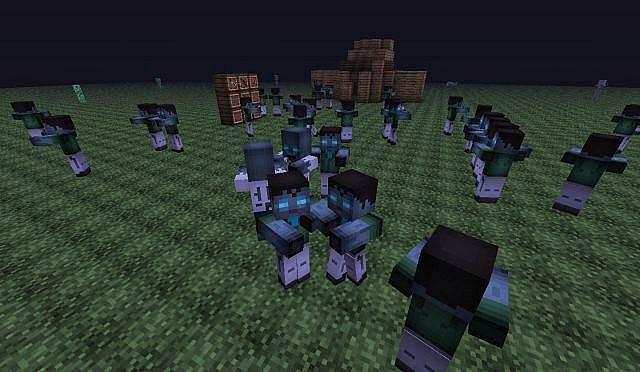 how to open door in zombies by the box