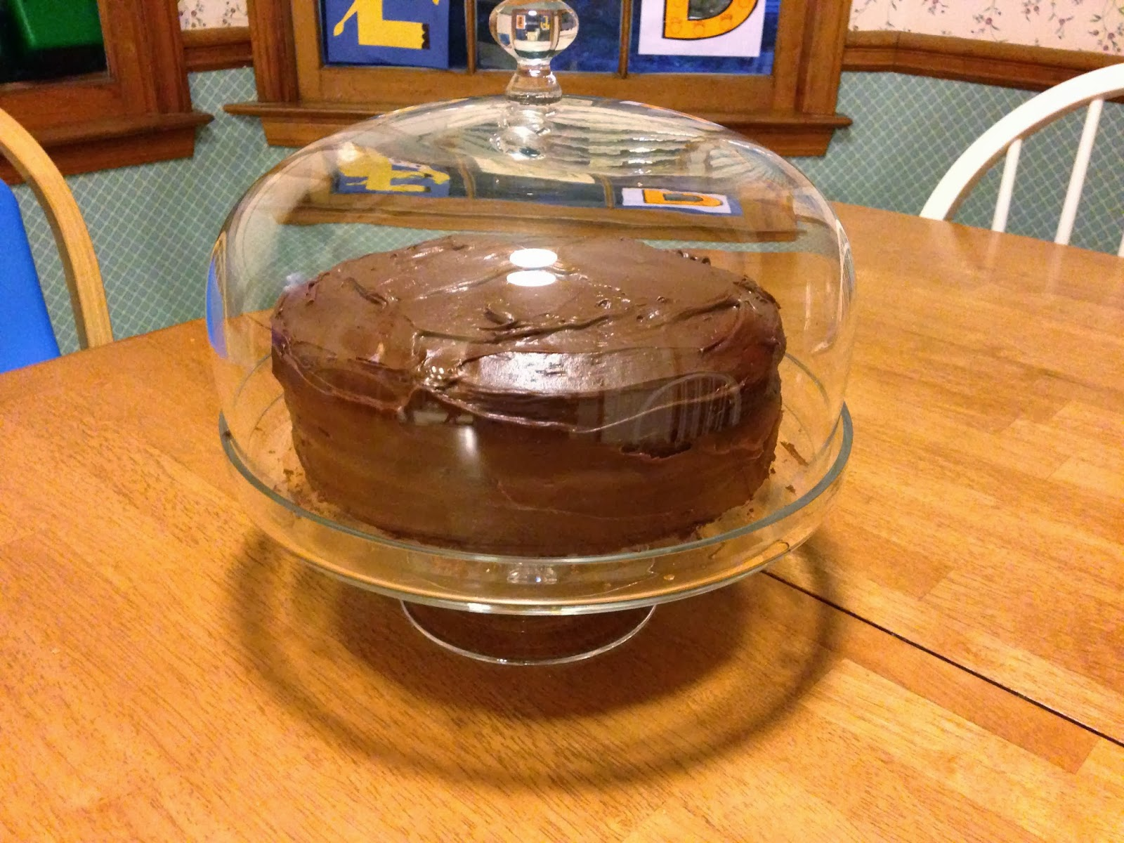 A Little Slice of Life: Portillo's Chocolate Cake