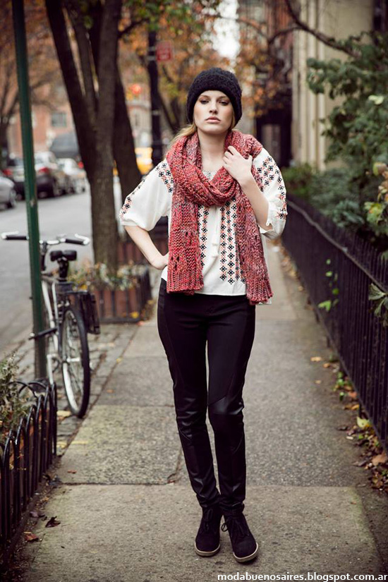 Looks urbanos otoño invierno 2014 India Style