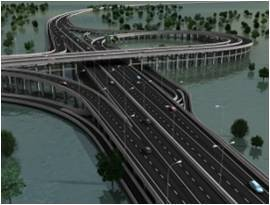 Nusa Dua-Ngurah Rai-Tanjung Benoa toll road just three meters above the sea, must be completed