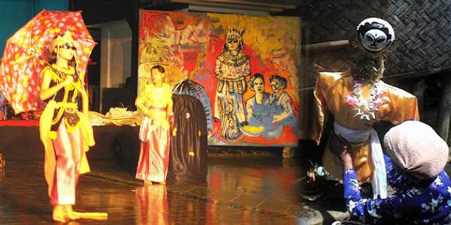 Ritual kesenian cingcowong kabupaten kuningan jawa barat indonesia, west java, indonesia, cingcowong