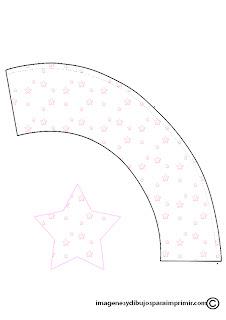 cupcakes para niños con estrellas
