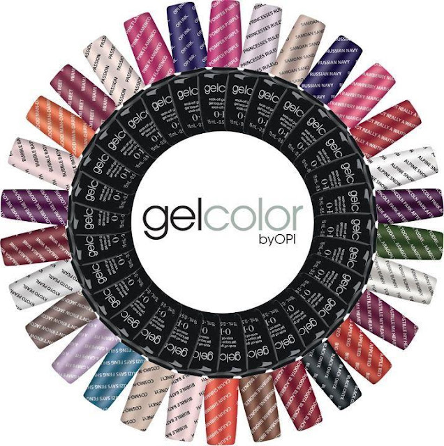 OPI gel color review