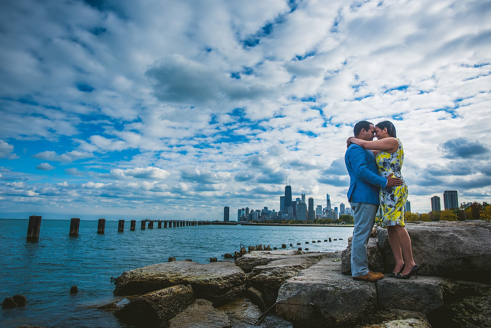 Lincoln Park Chicago Engagement Photography