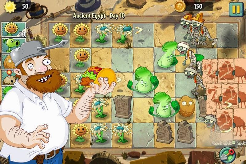 Plants Vs Zombies 2, de nuevo tendremos que ayudar a Dave el Loco