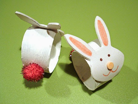Easy Easter Bunny Crafts For Kids - Preschoolers can make ...