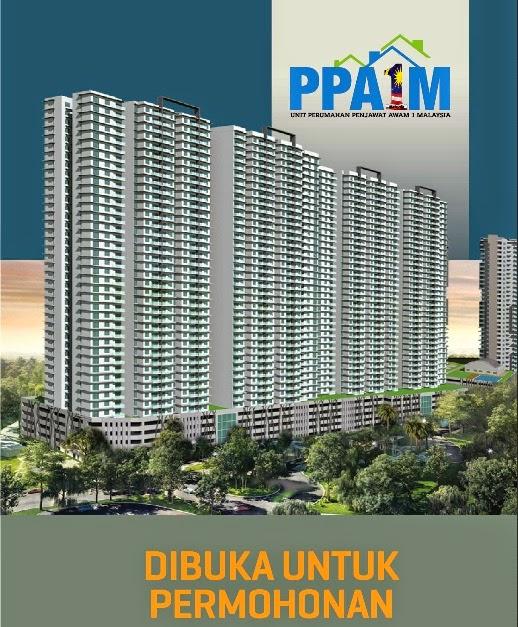 Download Borang Projek Perumahan Penjawat Awam 1 Malaysia PPA1M di Bukit Jalil
