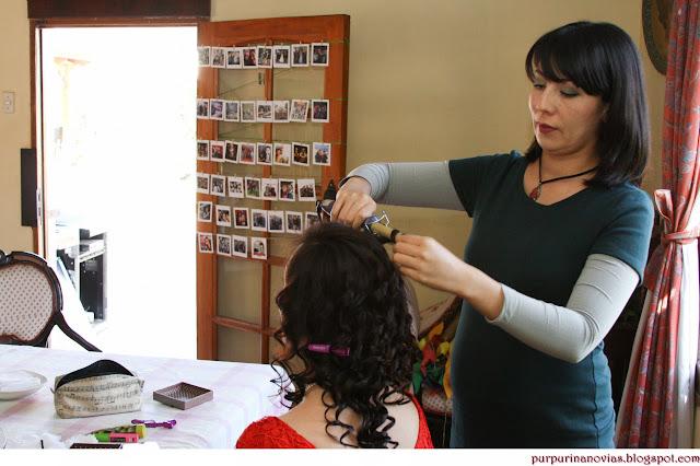 Peinados Para Boda Civil - Maquillaje y peinados para casamientos civiles por Socias