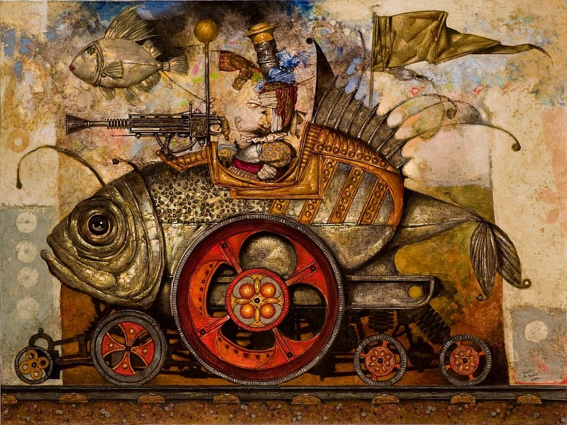 El Hurgador [Art on the Web]: Daron Mouradian [Painting]