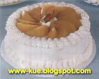 cara membuat cake apricot