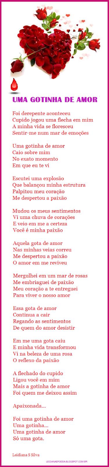 POESIA DE Leidiana S. Silva