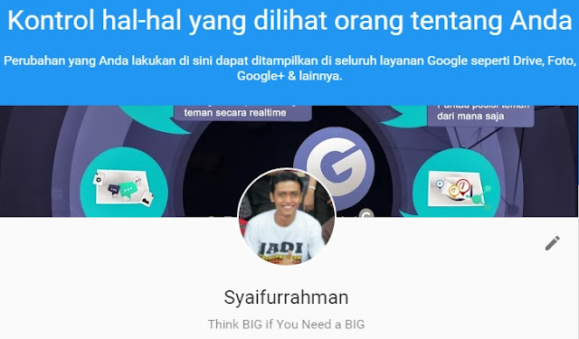 google about me