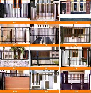 Gambar Model Pagar Rumah Minimalis