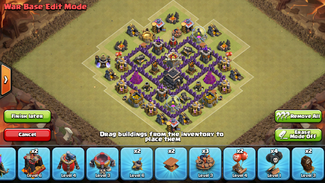 TH6 farming, hibrido y guerra 2 cohetes de defensa