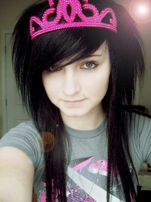 Hairstyle Emo Girl Wallpaper(01)