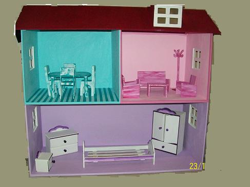 casa de muñecas (tipo barbie)