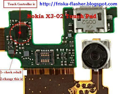 Trik Jumper Nokia X3-02 Touch Screen Solution
