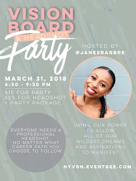 VISION BOARD + HEADSHOT PARTY