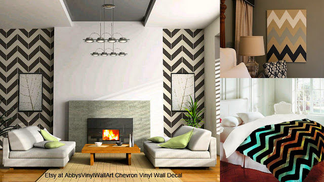 chevron interior design