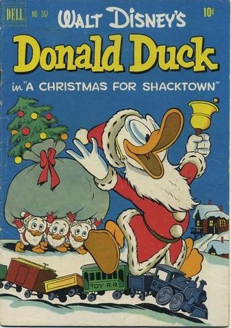 Classic Disney 1952 CHRISTMAS COMIC BOOKS