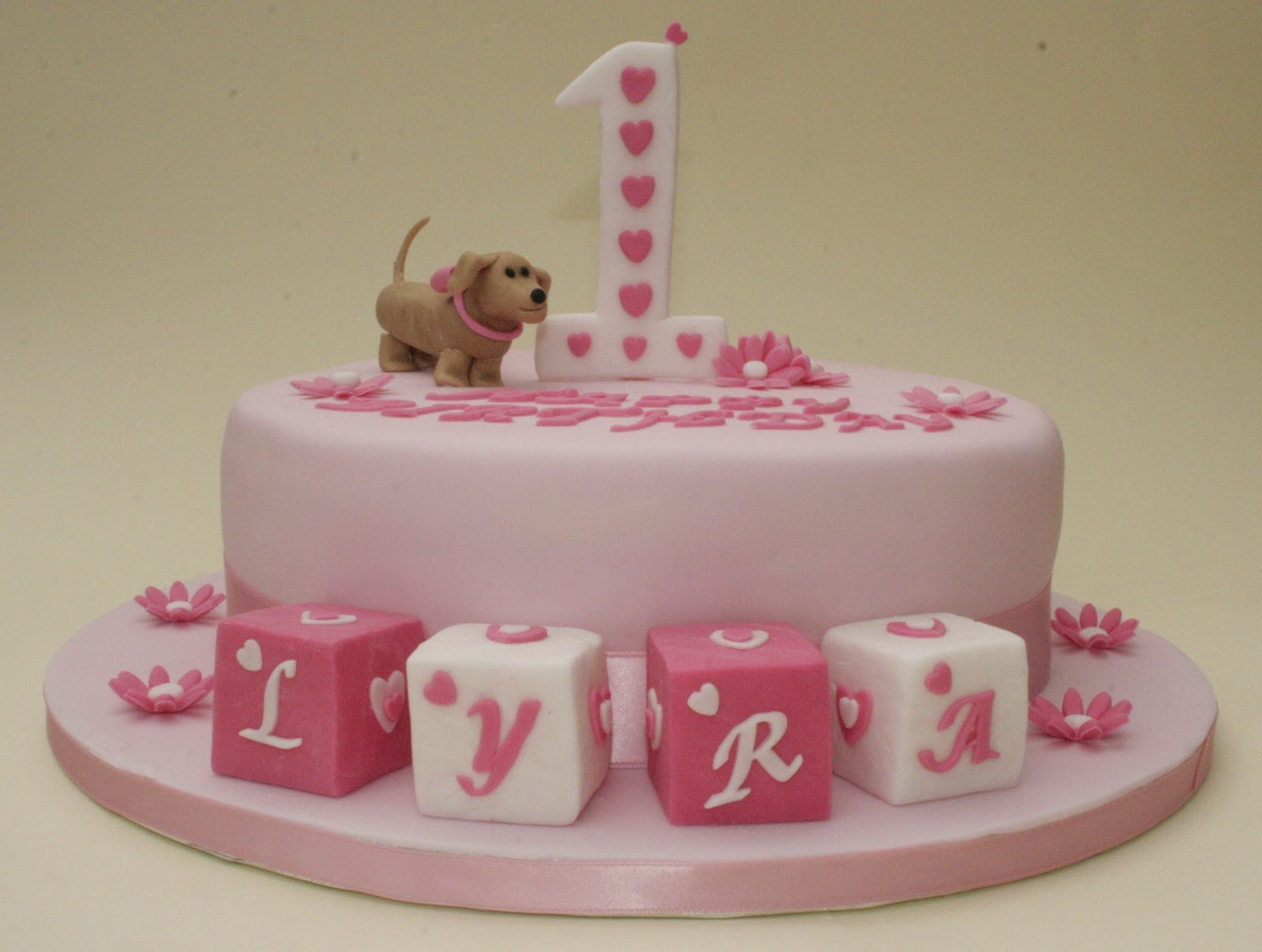 Good Cake Sausage Dog Birthday Cake