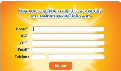 Brinde Gratis Assinatura da Globo por um mês