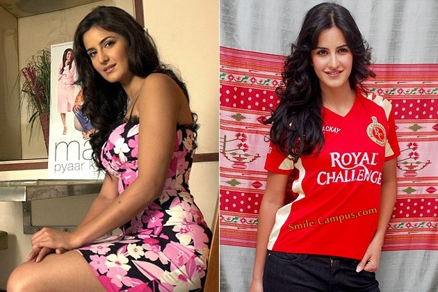 Katrina Kaif Before and After Weight Loss