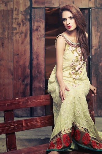 Tena Durrani Formal Dresses 2014
