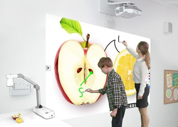 Epson interactive projectors