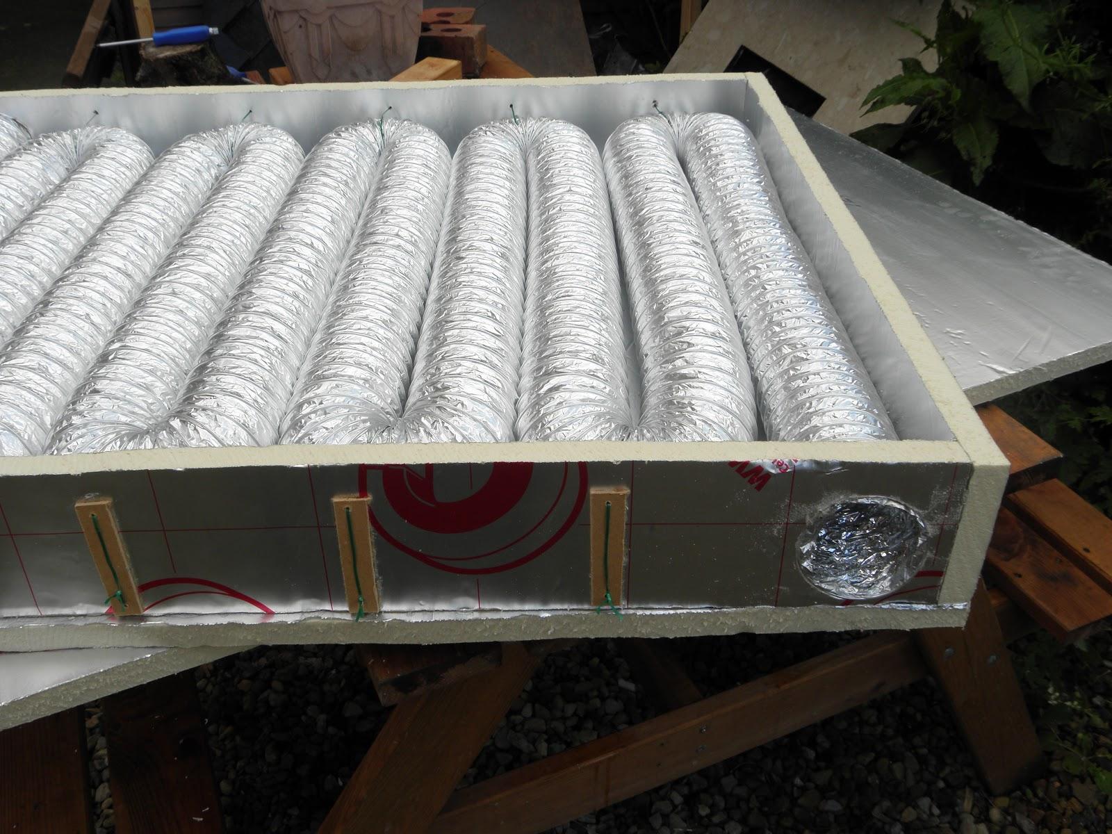 Солнечный коллектор для воздушного отопления своими руками 96