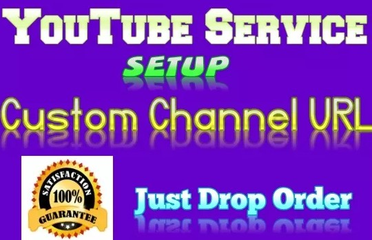 I Will Help Setup YouTube Channel Custom URL