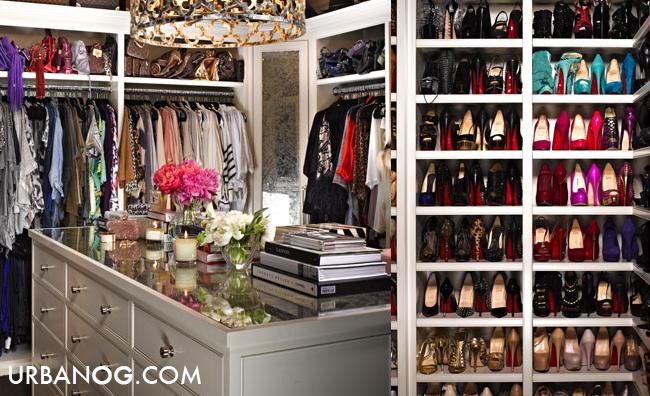 Inside Kim And Khloe Kardashianu0027s Closet