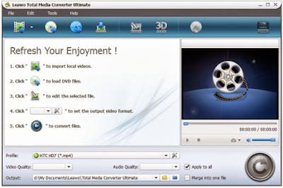 Free Download Leawo Total Media Converter Ultimate