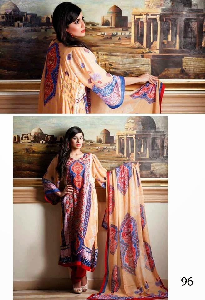 Al ZohaibTextileAnumChiffonCollection2014 wwwfashionhuntworldblogspotcom 23 - Anum Chiffon Collection 2014 By Al-Zohaib Textile