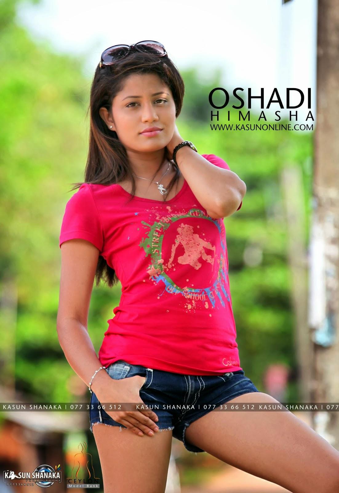 SL Hot Actress Pics: Oshadi Himasha new pink hot photos stills images