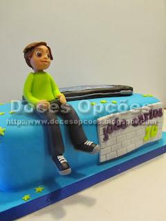 bolo aniversário playstation doces opções