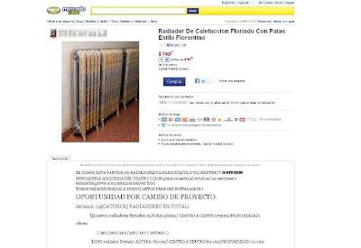 Gesti n mauricio macri pro ofrecen en la web asientos for Radiadores 7 islas