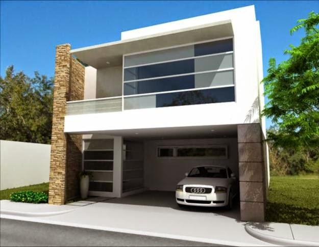 Fachadas de casas modernas mayo 2014 for Fachadas de casas contemporaneas modernas