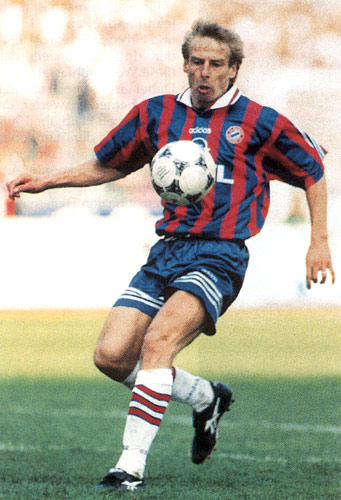 Klinsmann - Bayern años 90